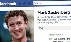 Social Media Bubble: Mark Zuckerberg