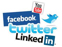 Social Media Bubble: Logos